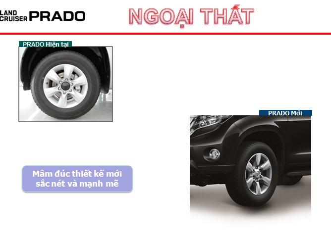 Lốp xe prado mới
