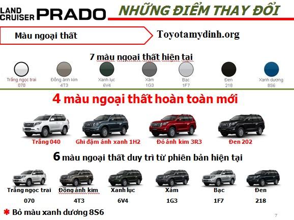 Land-Prado-2016-thay-doi-mau-ngoai-that
