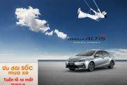 Toyota mỹ đình-Ưu đãi lớn trong tuần lễ ra mắt altis 2018