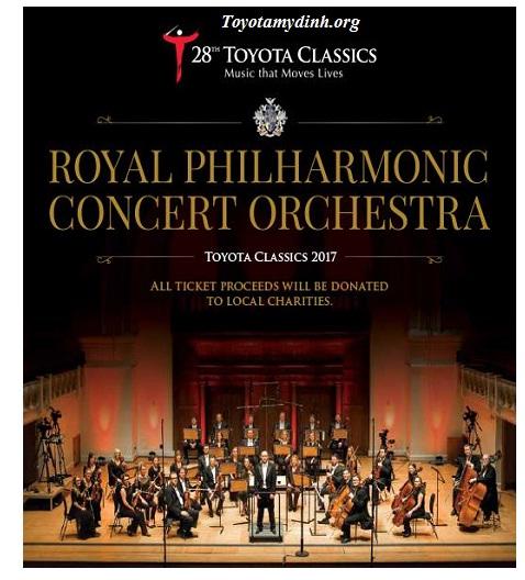 Chương trình đêm nhạc cổ điển Toyota - Toyota mỹ đình