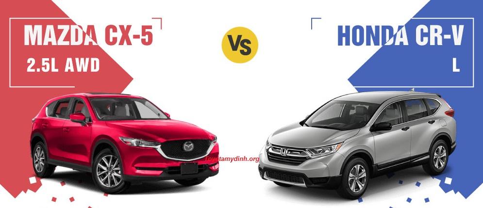 Honda Việt Nam và Trường Hải đã chính thức giới thiệu CR-V 2018 và CX5 2018 tới thị trường Việt Nam
