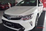 Toyota Việt Nam công bố giá xe camry mới cho mầu trắng ngọc trai năm 2018