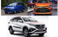 Toyota Rush, Wigo, Avanza lần đầu tiên được nhập về Việt Nam 2018