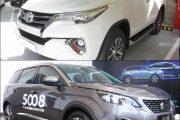 So sánh xe Toyota Fortuner 2018 và Peugeot 5008 2018