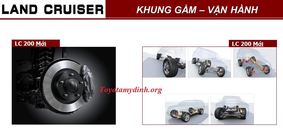 - Phanh trước sử dụng đĩa thông gió loại 18-inch giúp nâng cao hiệu quả phanh - Hệ thống treo ổn định động học (Kinetic Dynamic Suspension System - KDSS) giúp xe vận luôn vận hành ổn định trên mọi địa hình
