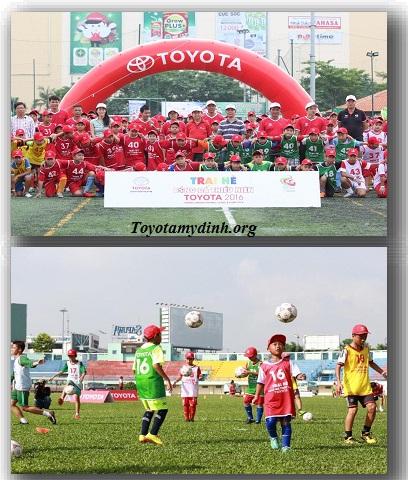 Trại hè bóng đá Toyota 2017 - sân chơi thú vị