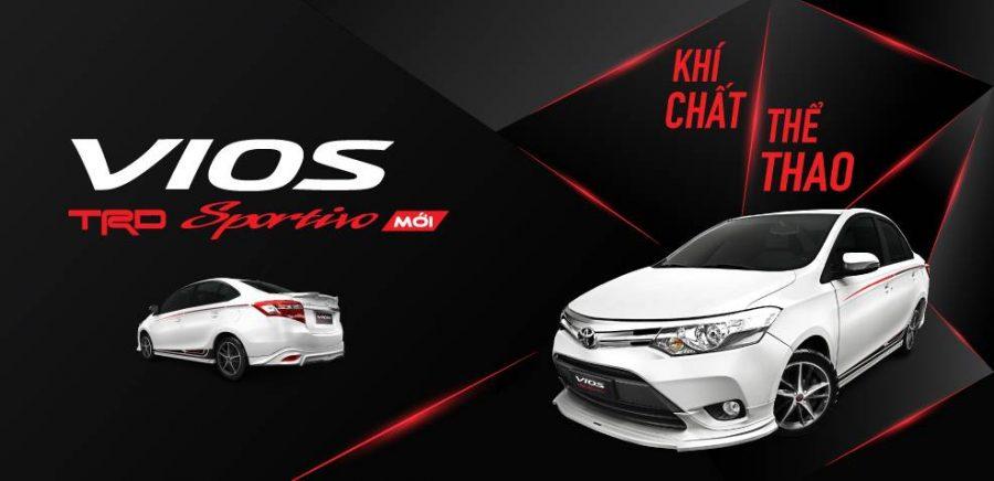 Những thay đổi vượt bậc của Toyota Vios TRD sportivo