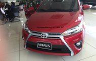 Toyota Yaris G đỏ lắp phụ kiện giao luôn Tại Toyota mỹ đình