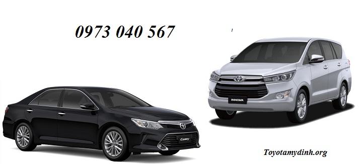 Dịch vụ tài chính Toyota ưu đãi thêm các dòng xe mới camry 2018, Altis 2018, innova 2018