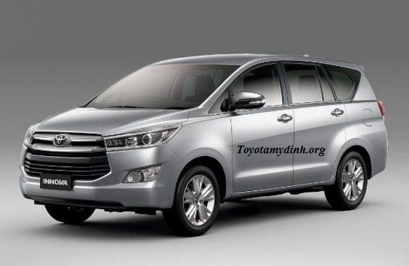 Toyota nâng cấp trên dòng Innova 2017, 2018 mới