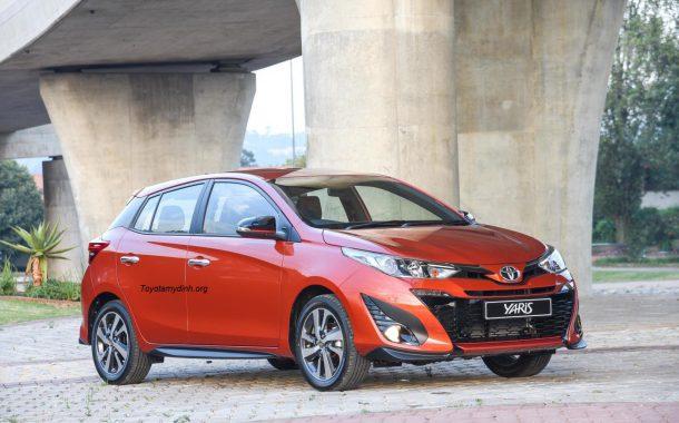 Thông tin thay đổi trên xe Yaris phiên bản 2018 mới - Toyota mỹ đình