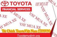 Mua xe trả góp tại Toyota mỹ đình