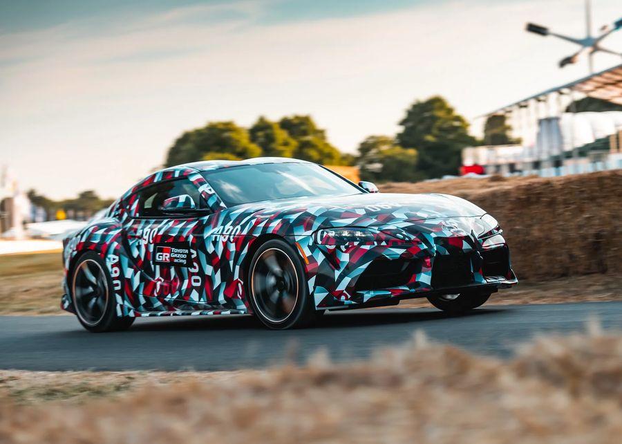 Lộ ảnh nội thất Toyota Supra 2019