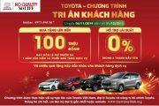 Chương trình siêu khuyến mãi tháng 11, 12-2019 Toyota mỹ đình