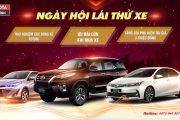 Toyota mỹ đình - Chương trình lái thử xe nhận quà tặng khủng 23/05/2020