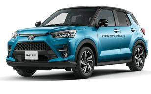 Toyota Raize phân khúc SUV cỡ nhỏ mới hứa hẹn nhiều đột phá